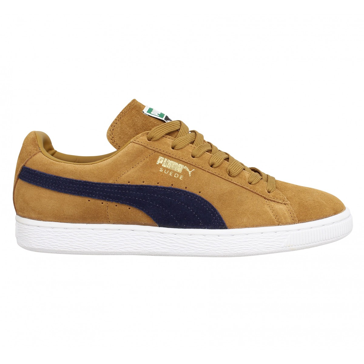 PUMA Suede Classic velours Homme Brun