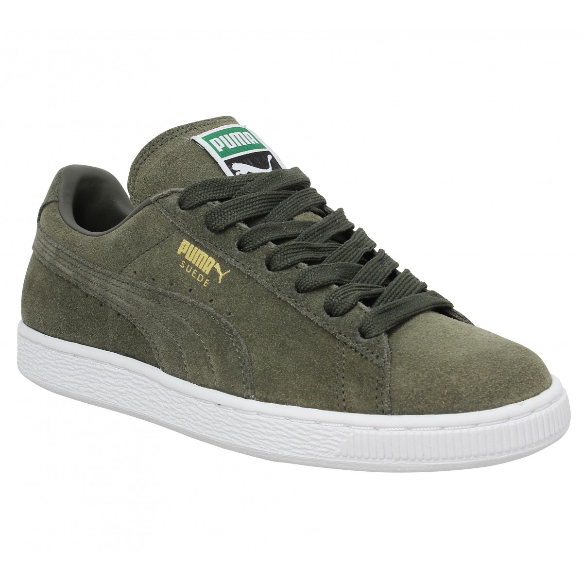 Baskets PUMA Suede Classic velours Forest Night