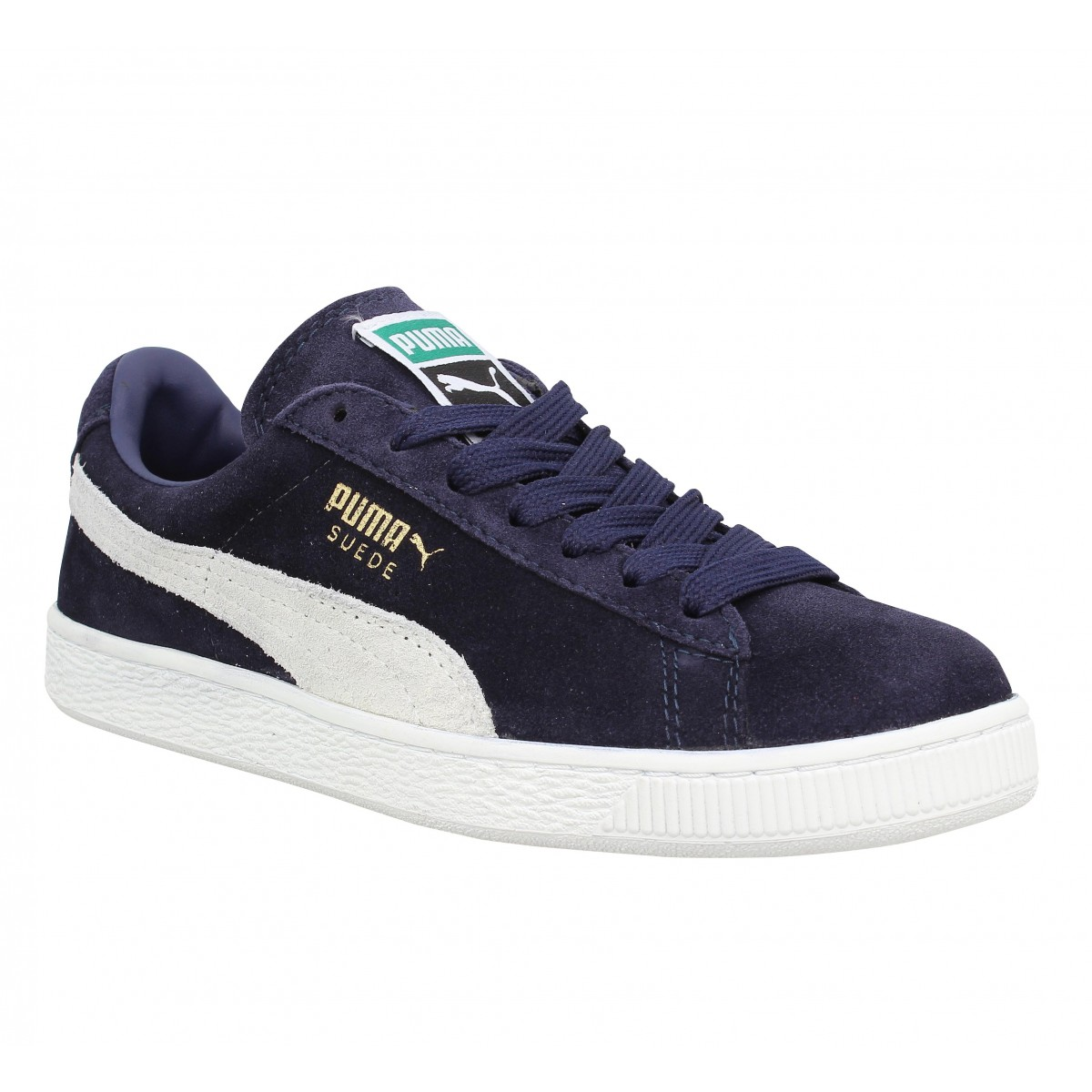 Baskets PUMA Suede Classic velours Homme Marine