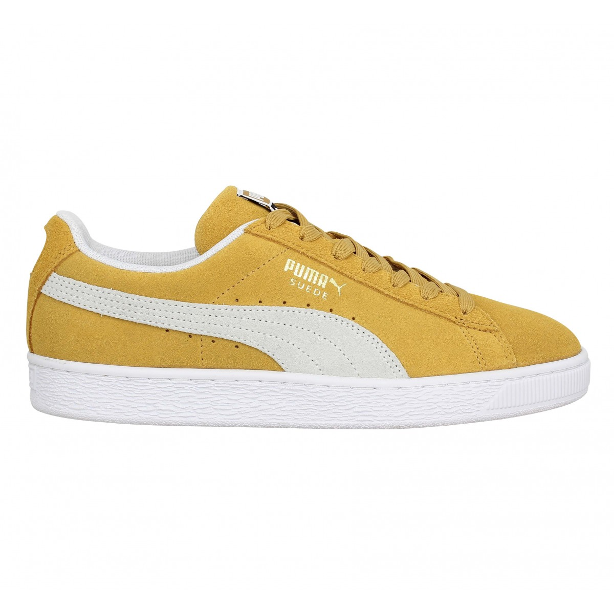 Classic Velours Puma Suede Chaussures Homme MoutardeFanny cAjRL435q