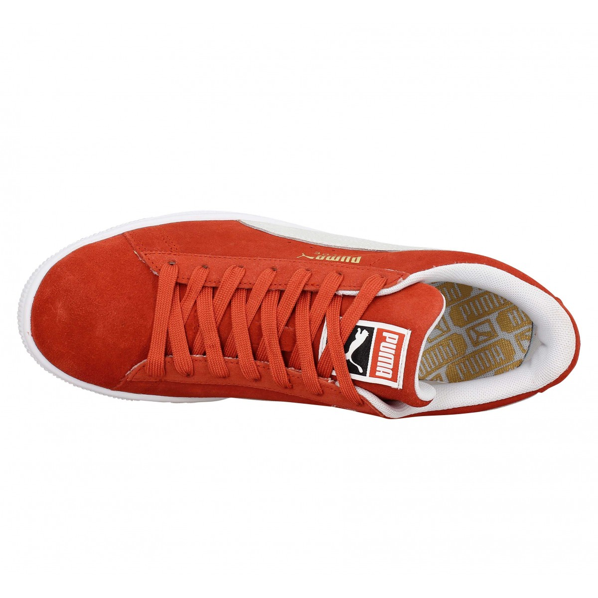 PUMA Suede Classic velours Homme Ocre