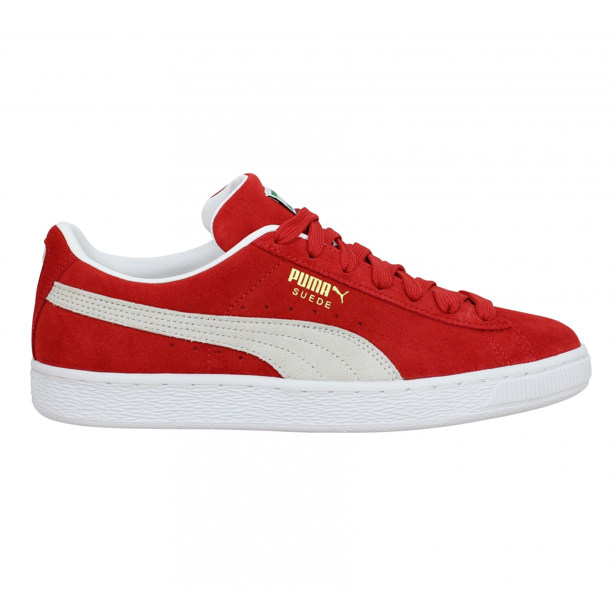 PUMA Suede Classic XXI velours Homme Rouge