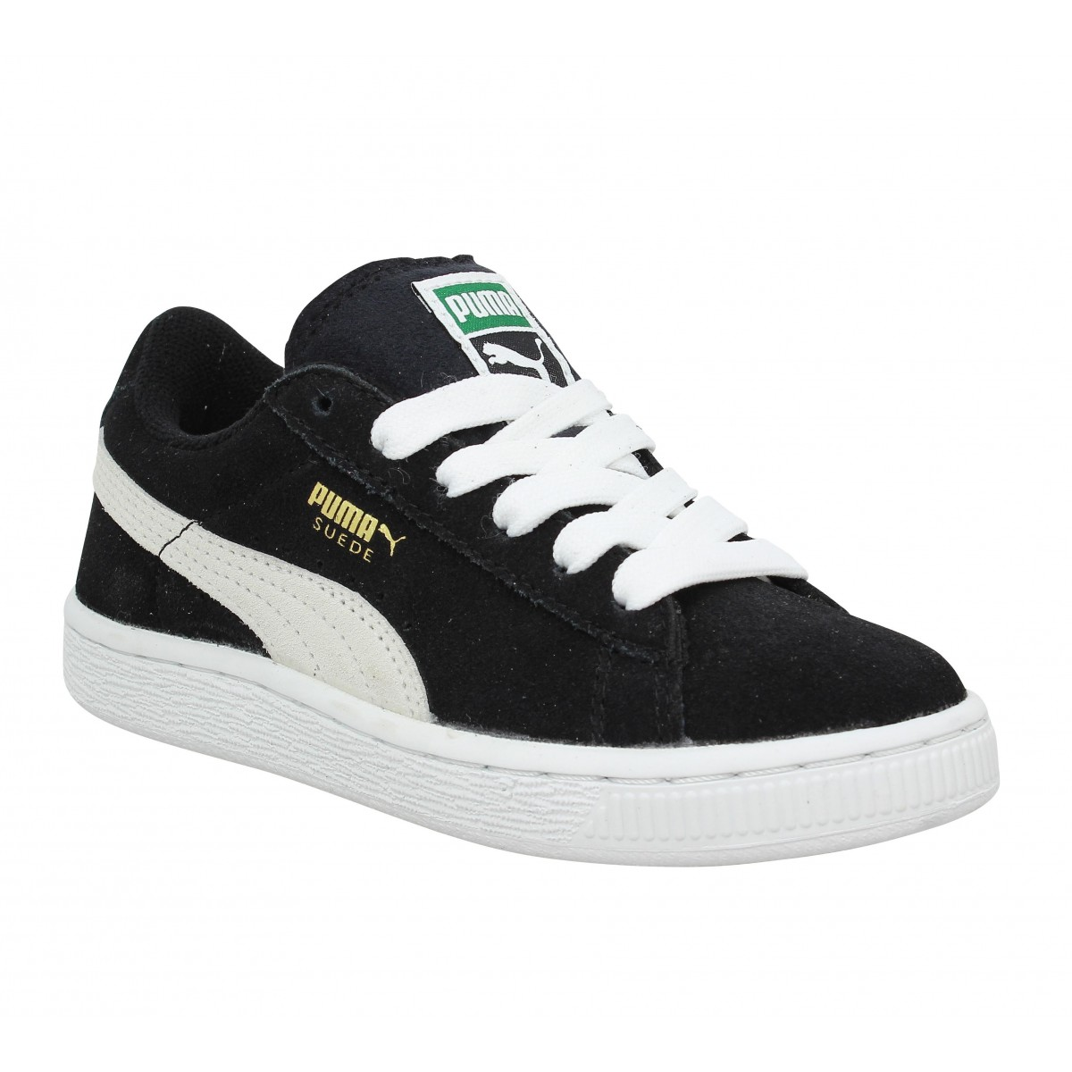 Baskets PUMA Suede JR Noir