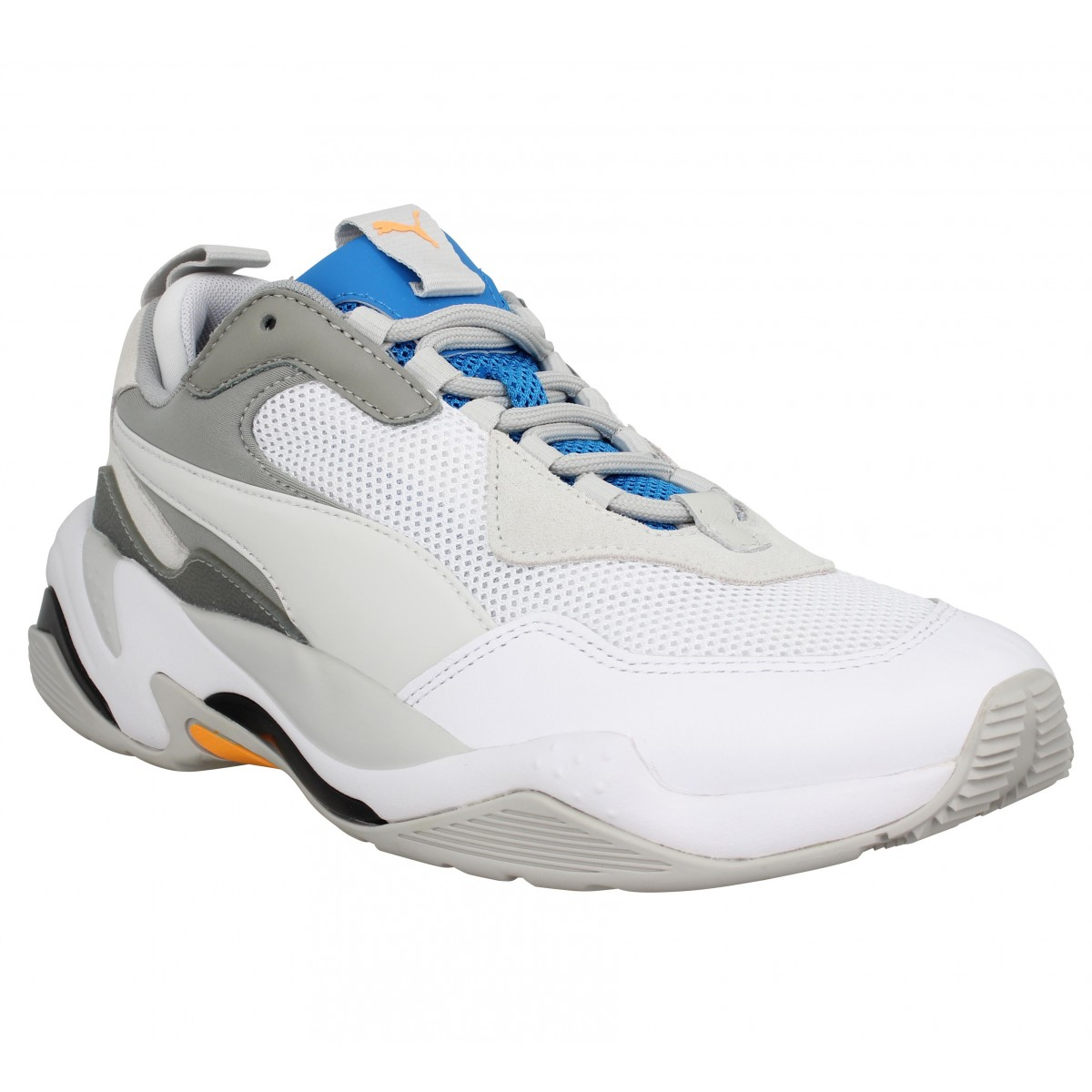 chaussures homme puma blanche