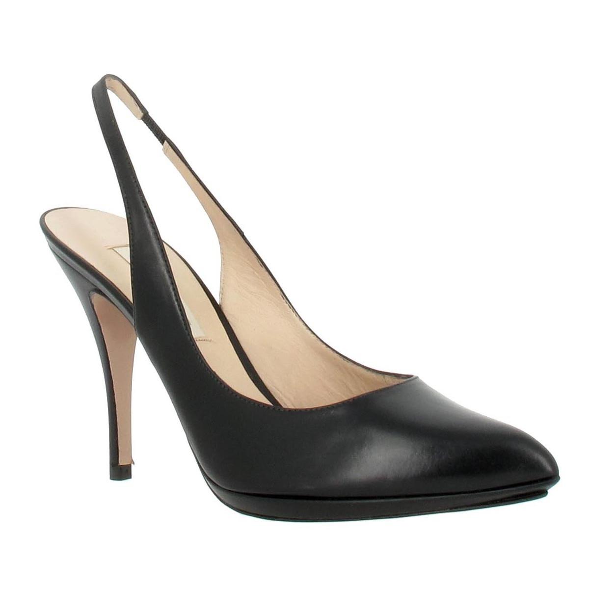 Escarpins PURA LOPEZ 138 cuir Femme Noir