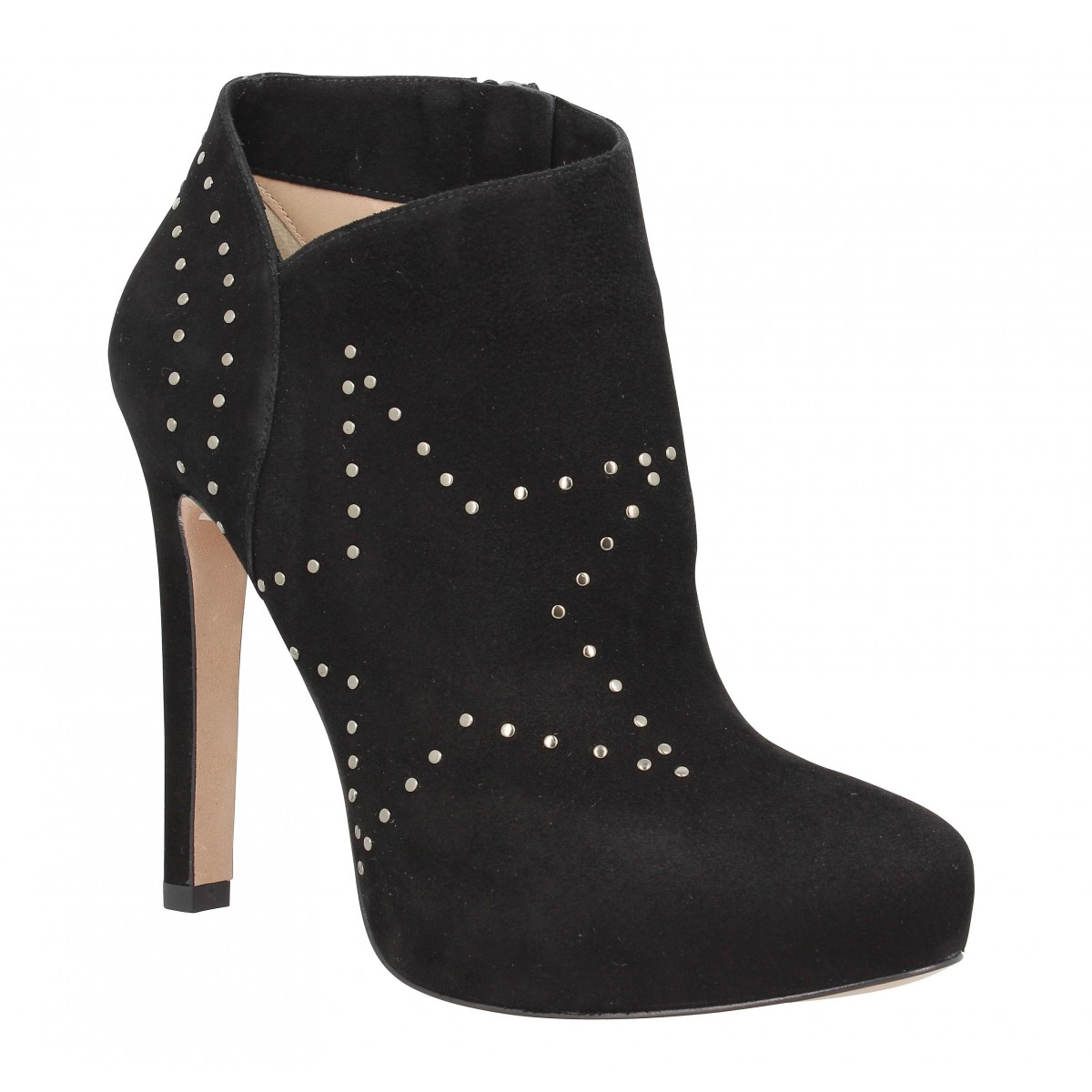 Bottines PURA LOPEZ 269 velours Noir