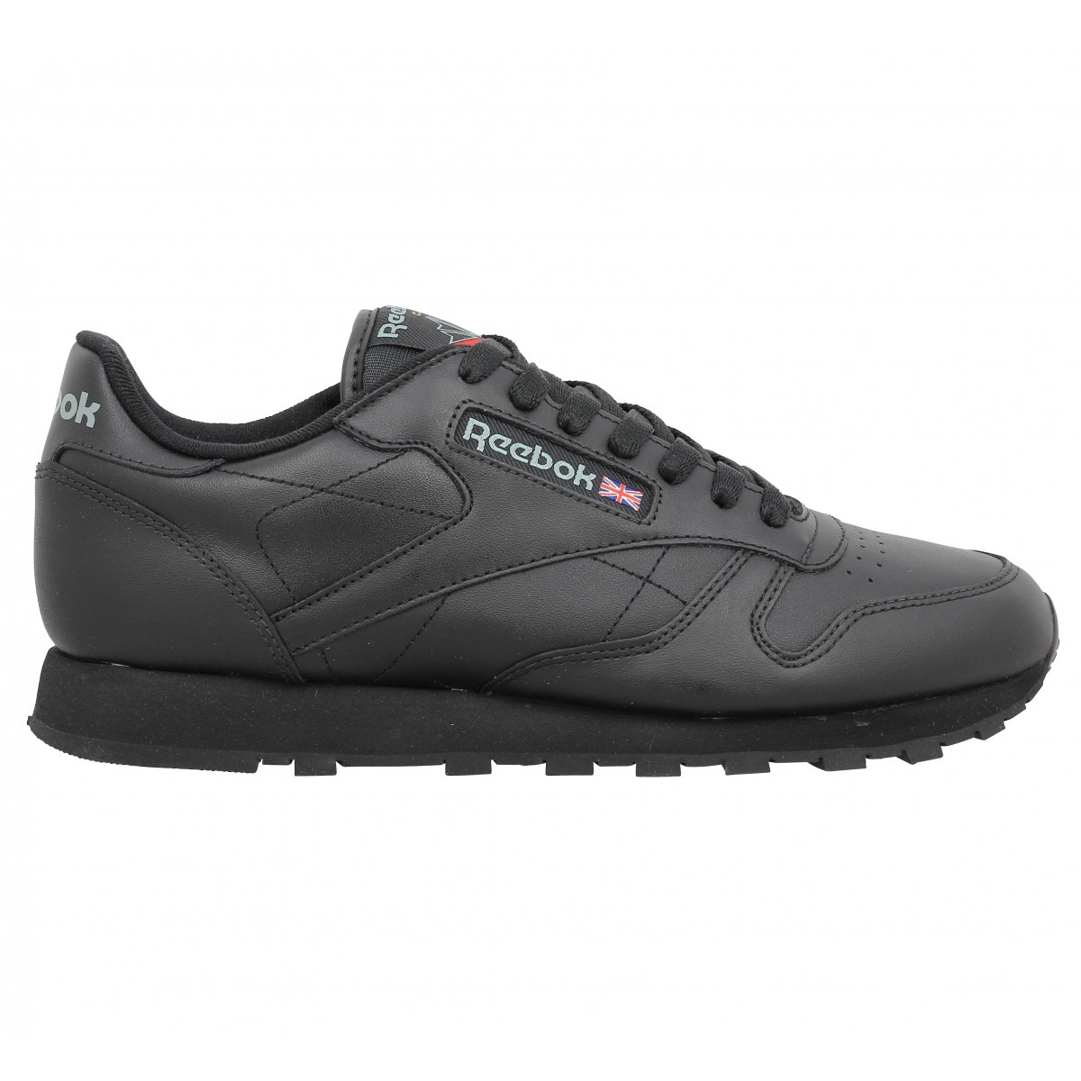 more photos 85fd4 9e8a4 Reebok classic cuir homme noir   Fanny chaussures