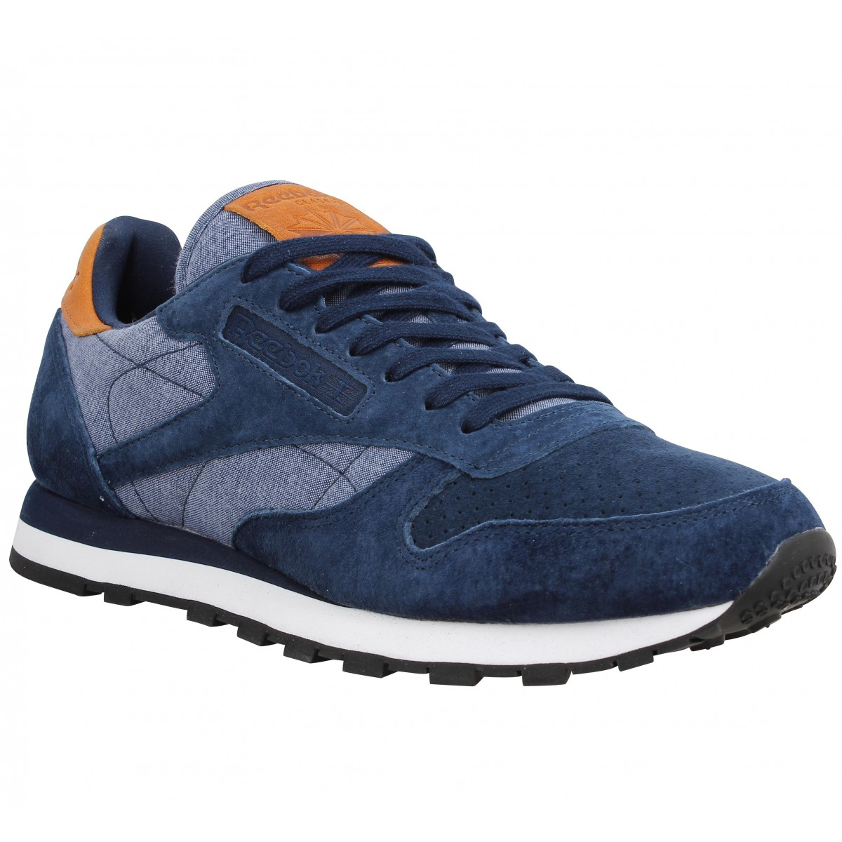 Reebok Marque Classic Leather Ch-40-navy