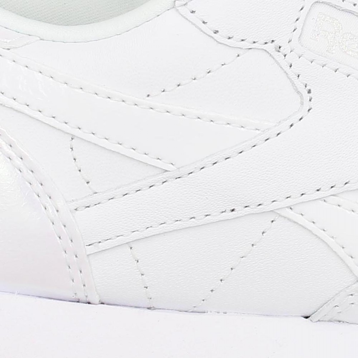 REEBOK Classic Leather cuir Femme White Ice