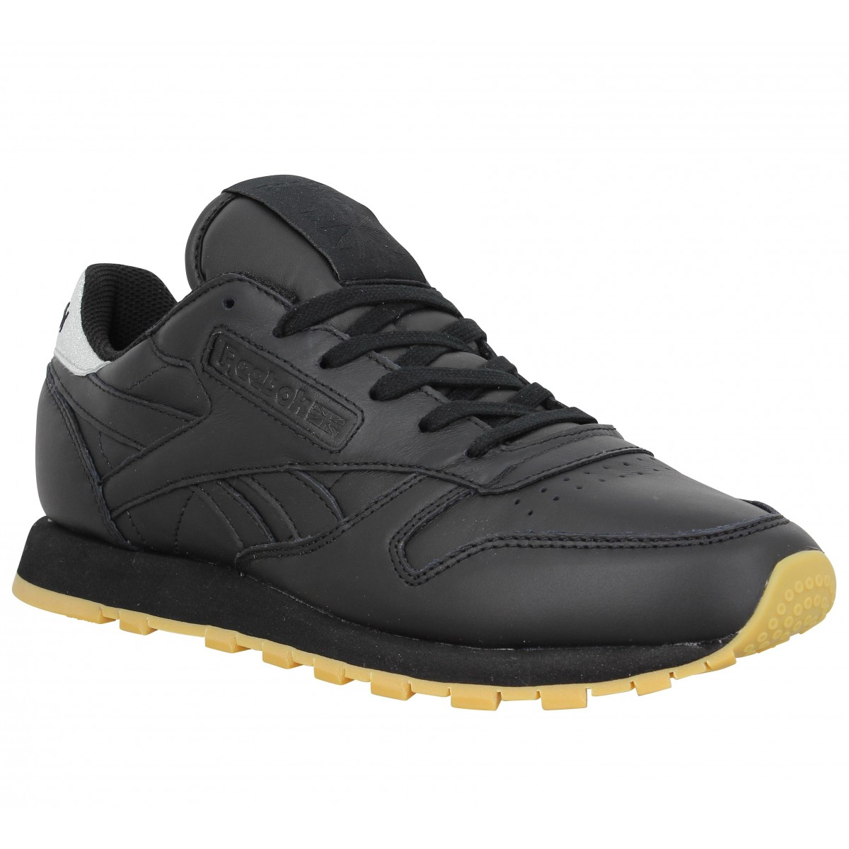 soldes reebok classic leather met diamond noir femme fanny chaussures. Black Bedroom Furniture Sets. Home Design Ideas
