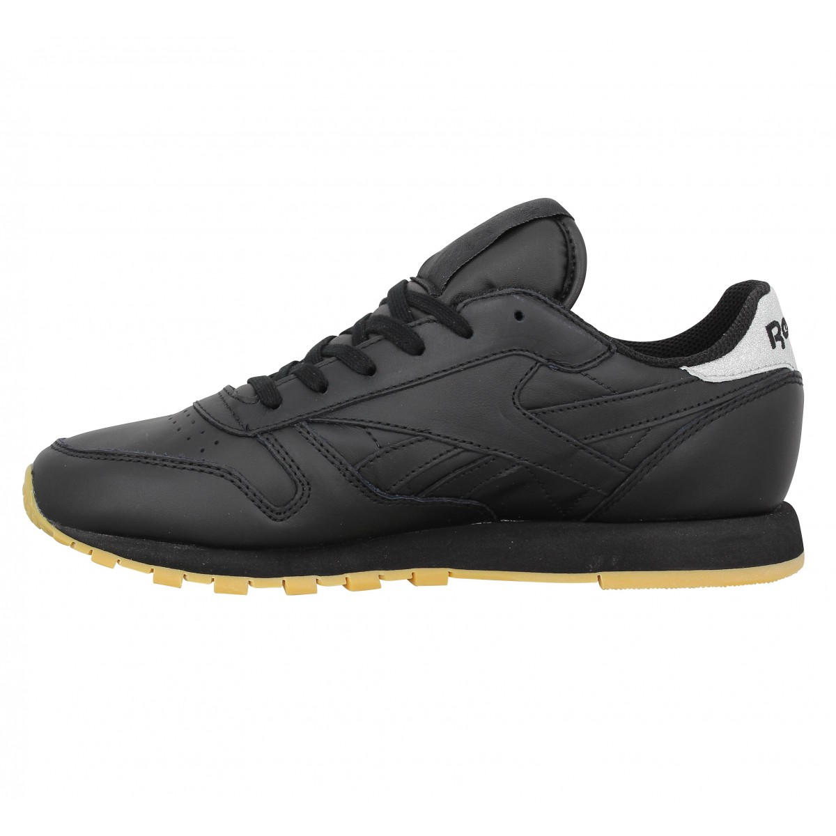 great prices new list look for Reebok classic leather met diamond noir femme   Fanny chaussures