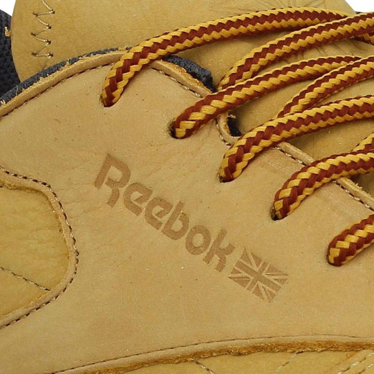 REEBOK Classic Leather Ripple nubuck Homme Gold