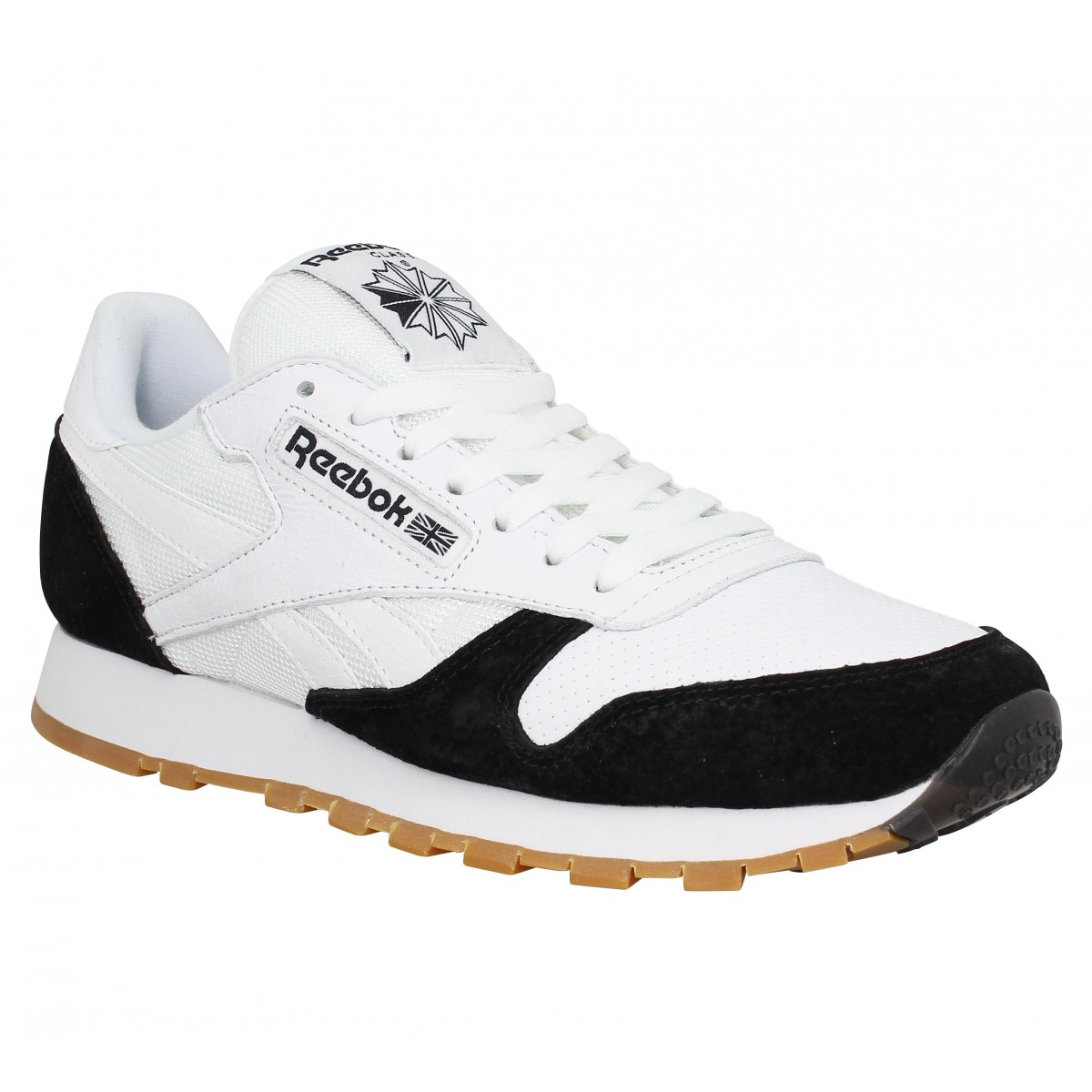 Baskets REEBOK Classic Leather SPP Blanc Noir