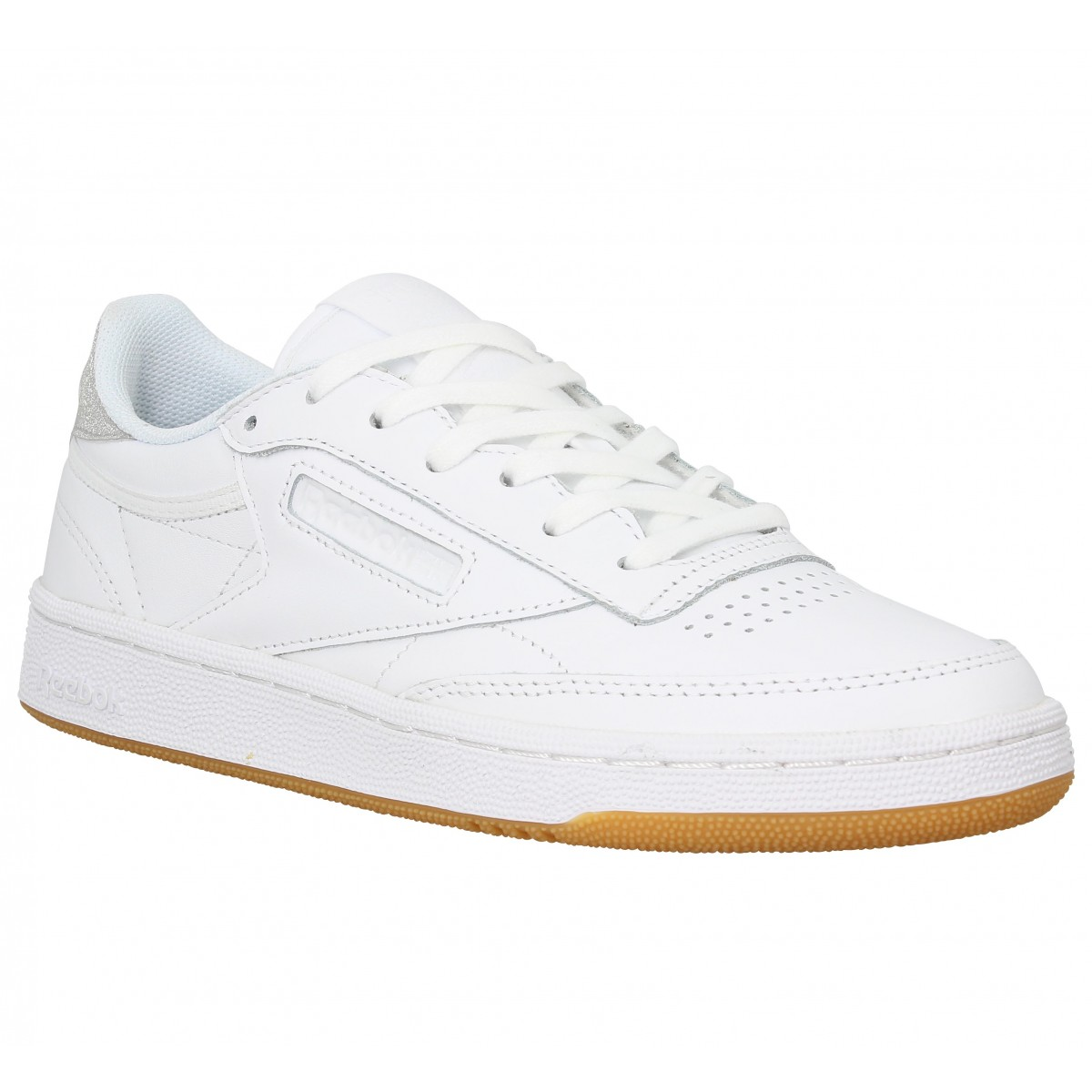 771d7d3947391 Baskets REEBOK Club C 85 Diamond Blanc