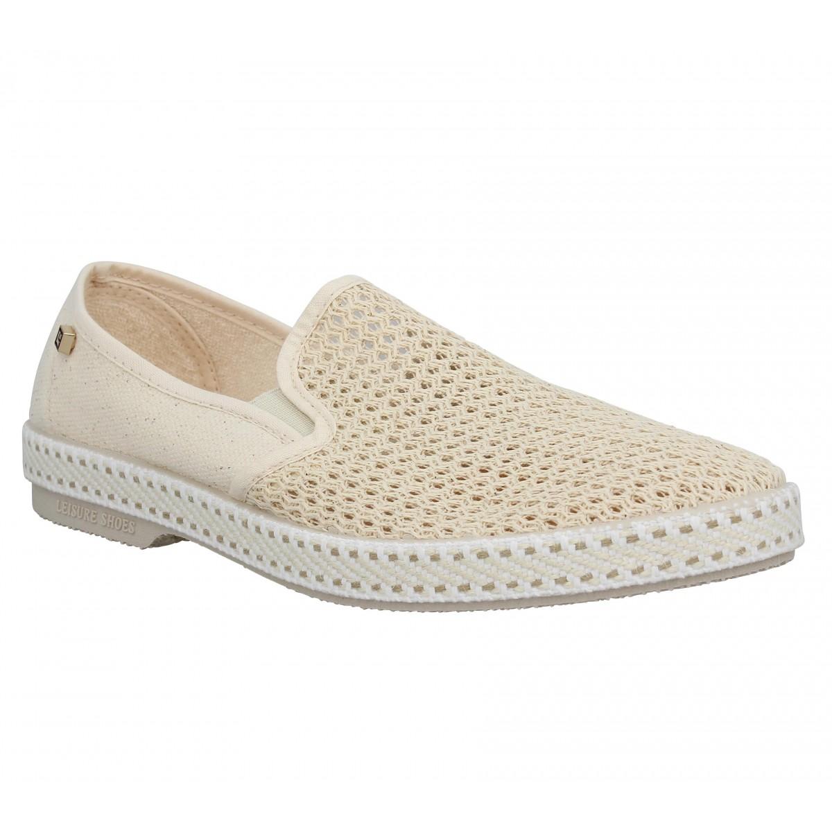 chaussures de sport b9a9a 5c6a8 RIVIERAS Classic 20 toile Beige