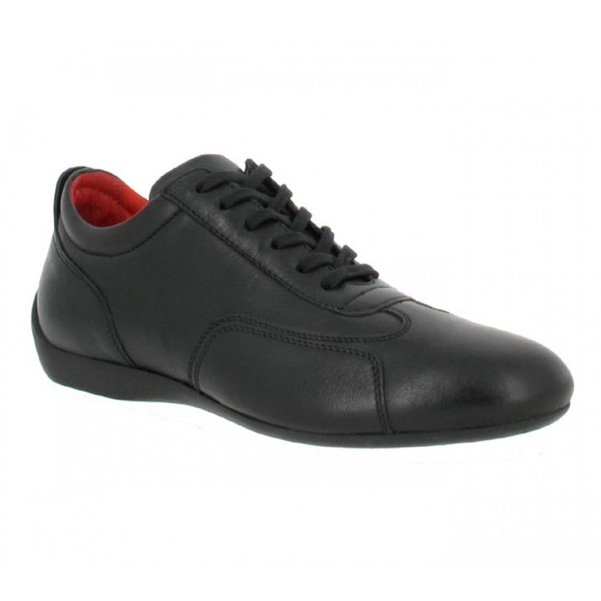 Chaussures à lacets SABELT Granturismo veau Homme Noir