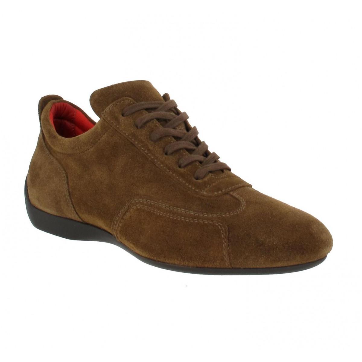 Chaussures à lacets SABELT Granturismo velours Homme Legno