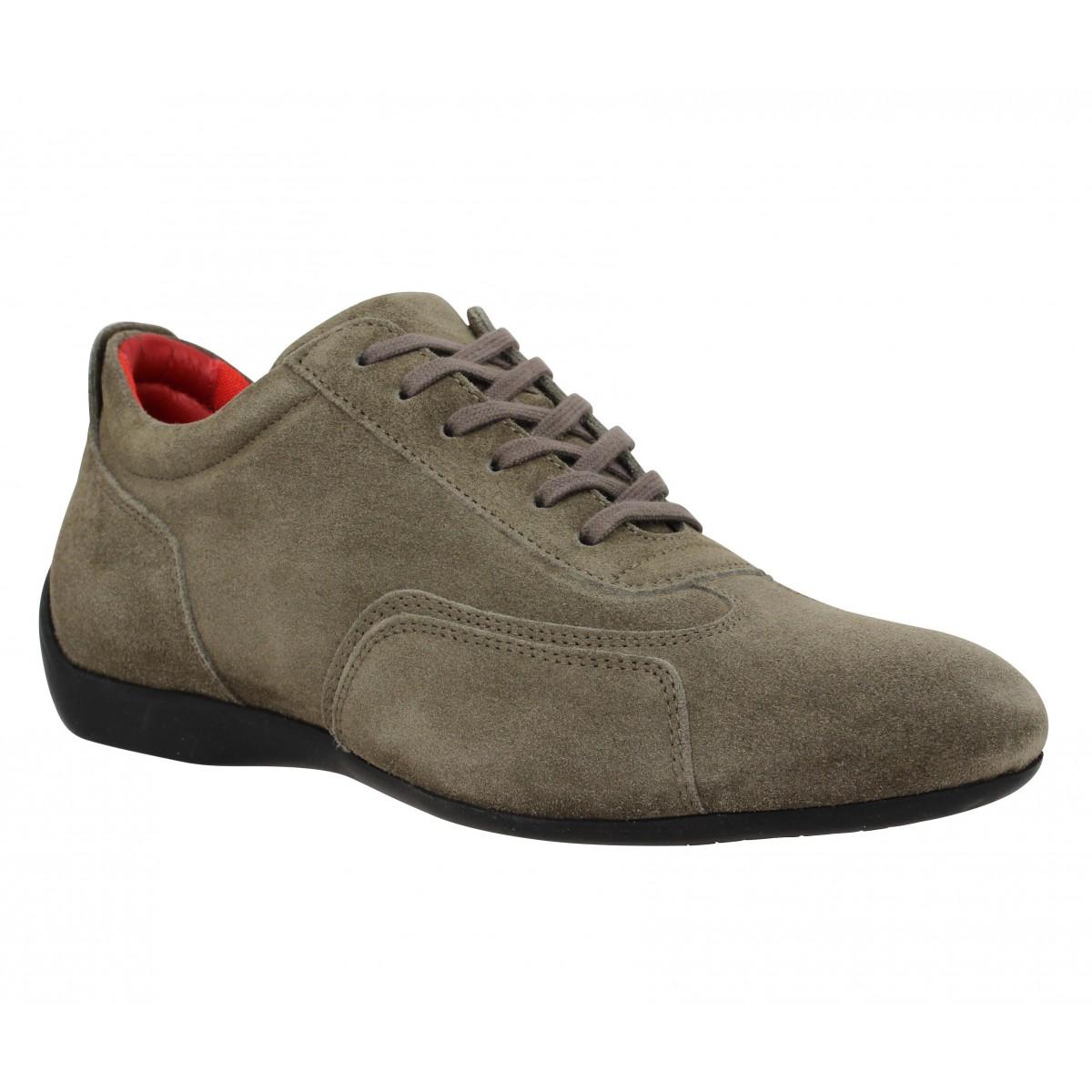 Chaussures à lacets SABELT Granturismo velours Homme Acier