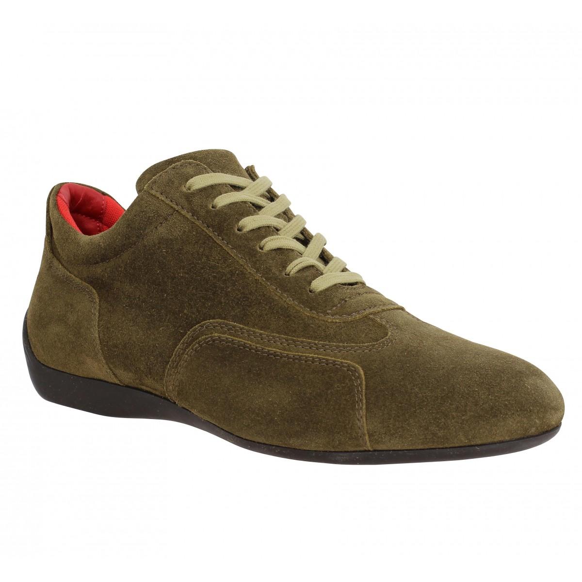 Chaussures à lacets SABELT Granturismo velours Homme Antilope