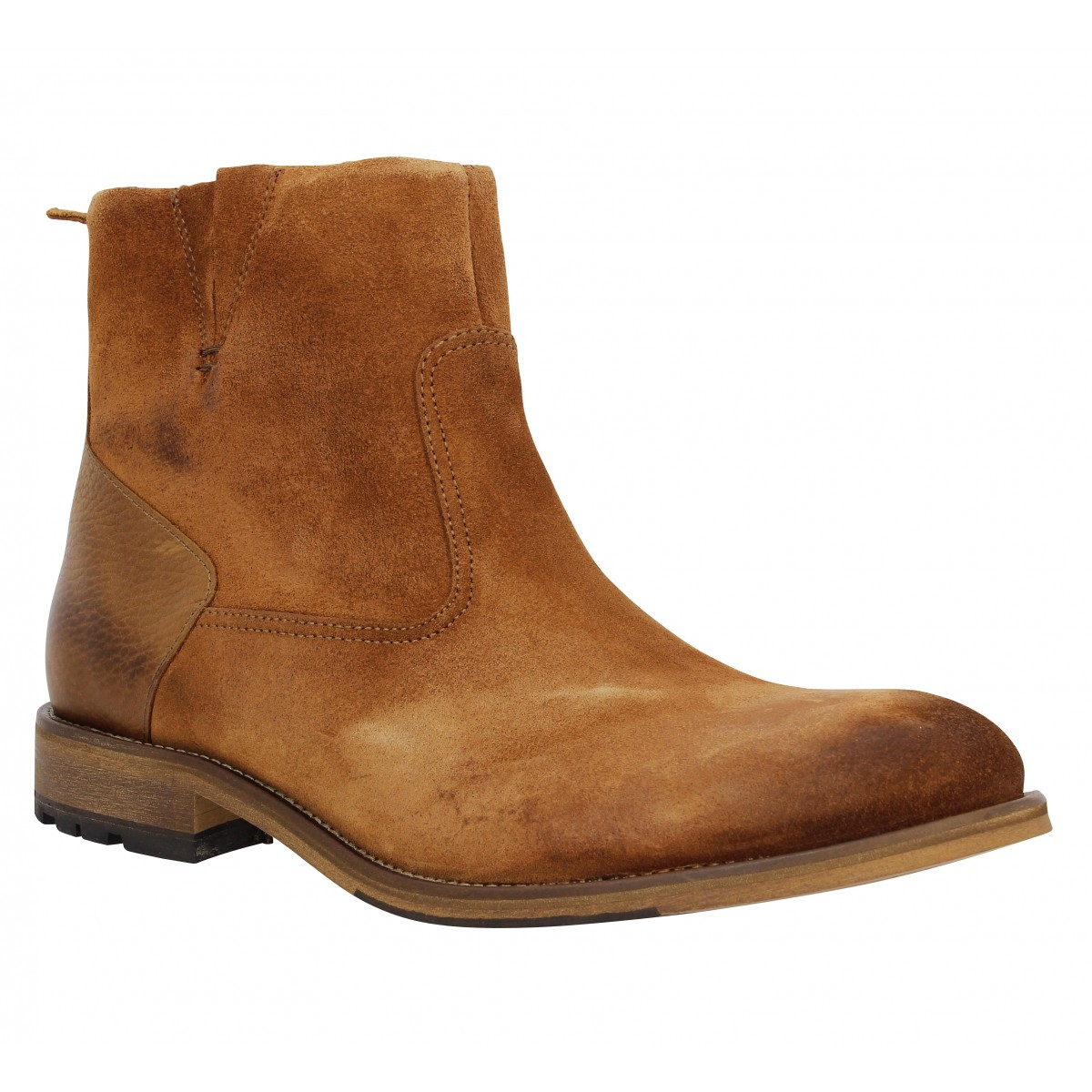 Bottines SCHMOOVE Steam Boots Cognac