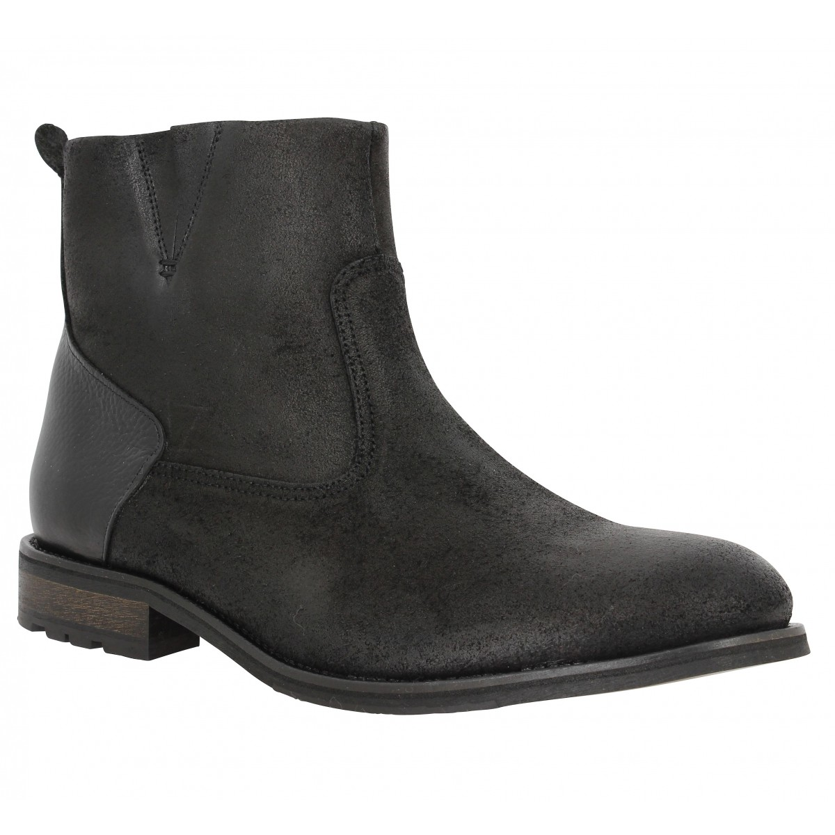 Bottines SCHMOOVE Steam Boots Noir
