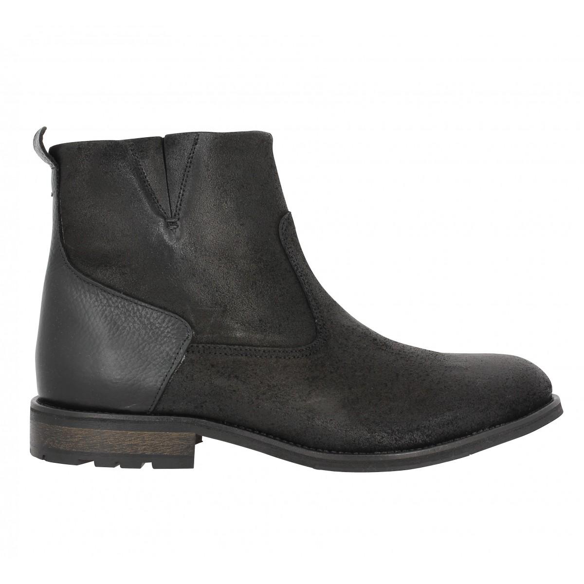 soldes schmoove steam boots noir homme fanny chaussures. Black Bedroom Furniture Sets. Home Design Ideas