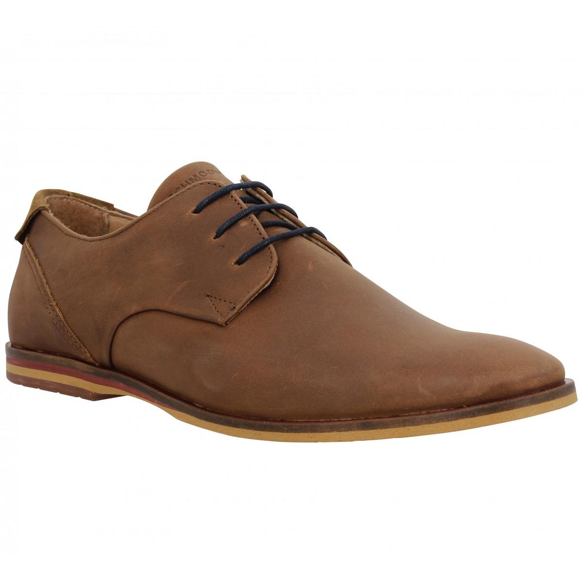 Chaussures à lacets SCHMOOVE Swan Derby Cognac