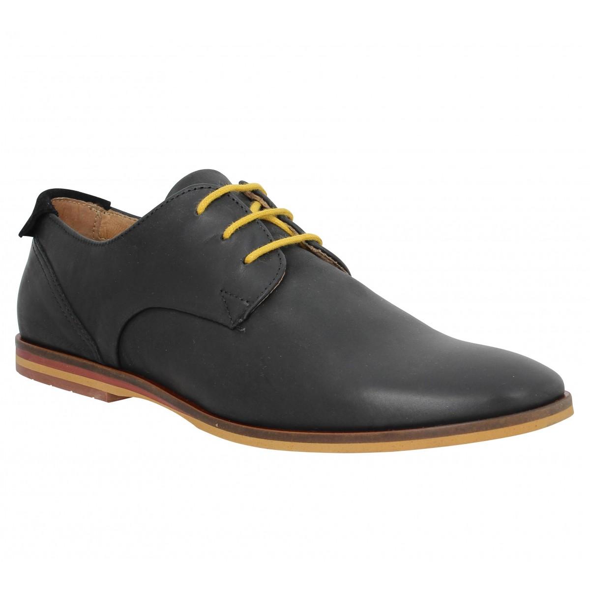 Chaussures à lacets SCHMOOVE Swan Derby Noir