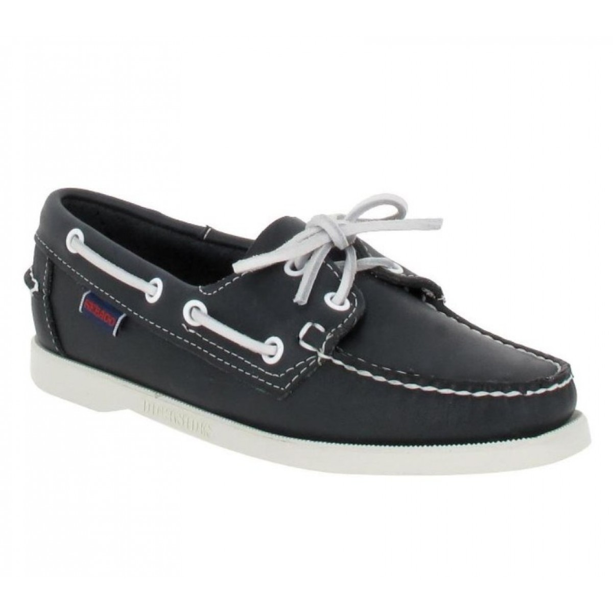 Chaussures bateaux SEBAGO Docksides Femme Marine