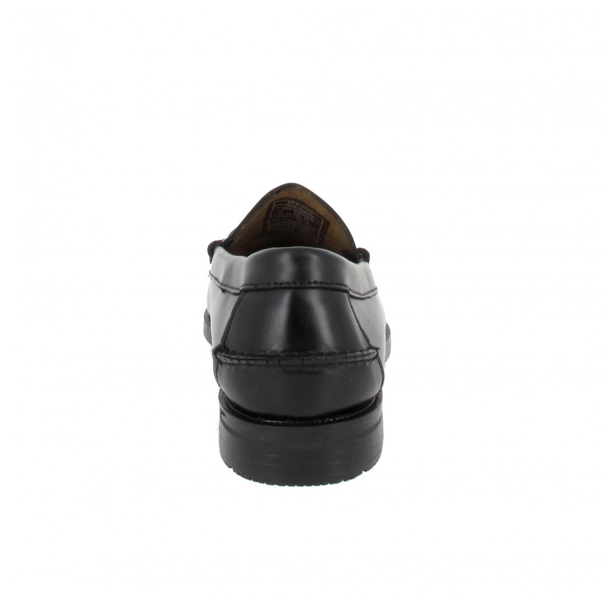 SEBAGO Grant 3E cuir Homme Noir