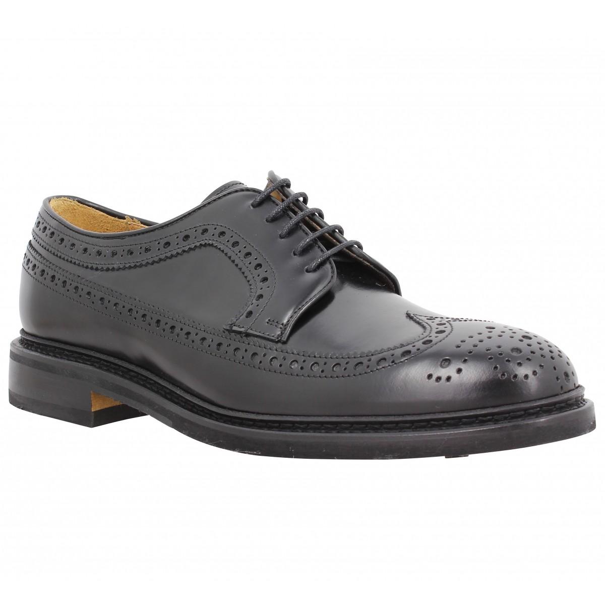 Chaussures à lacets SEBAGO Merida cuir Homme Noir