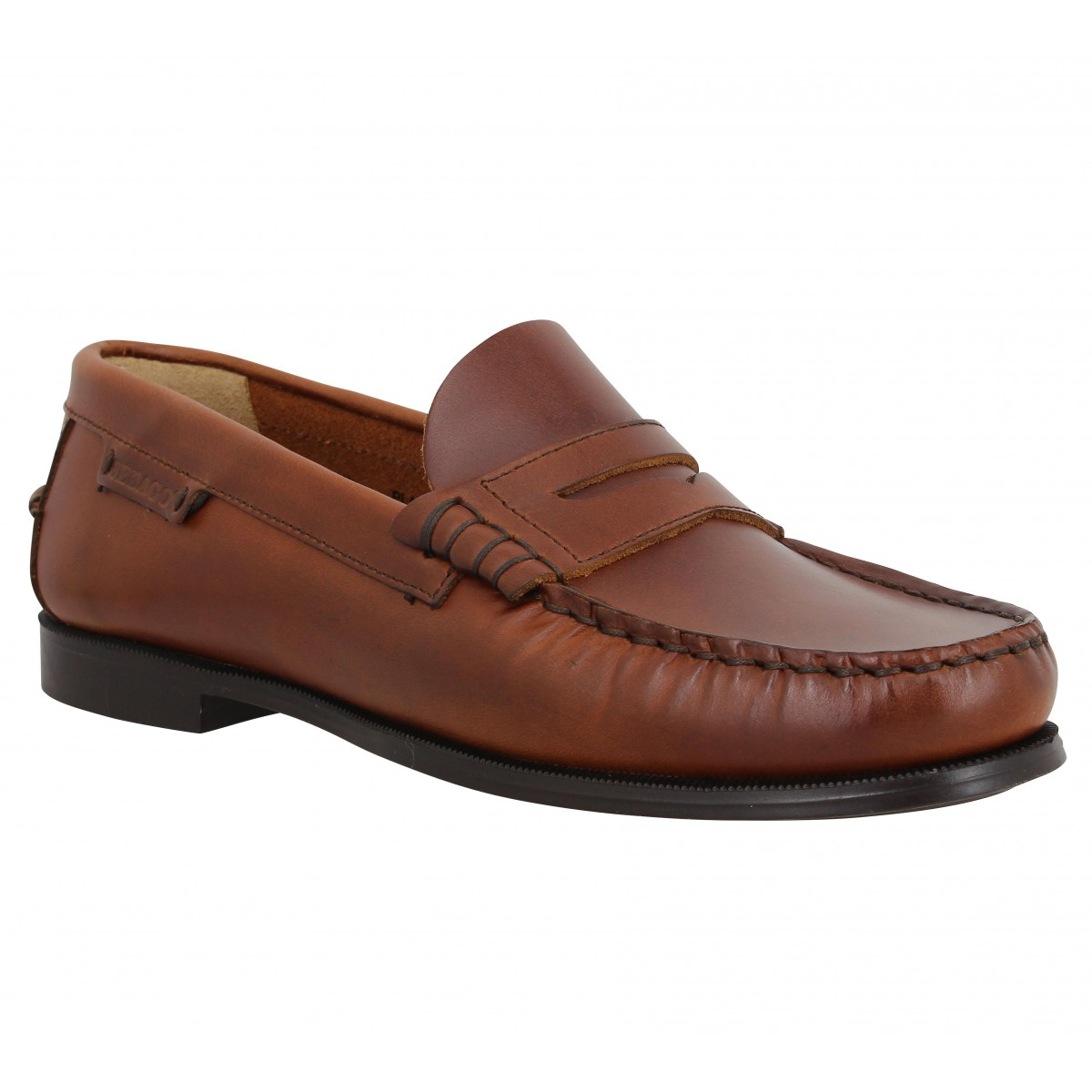 Mocassins SEBAGO Plaza cuir Marron