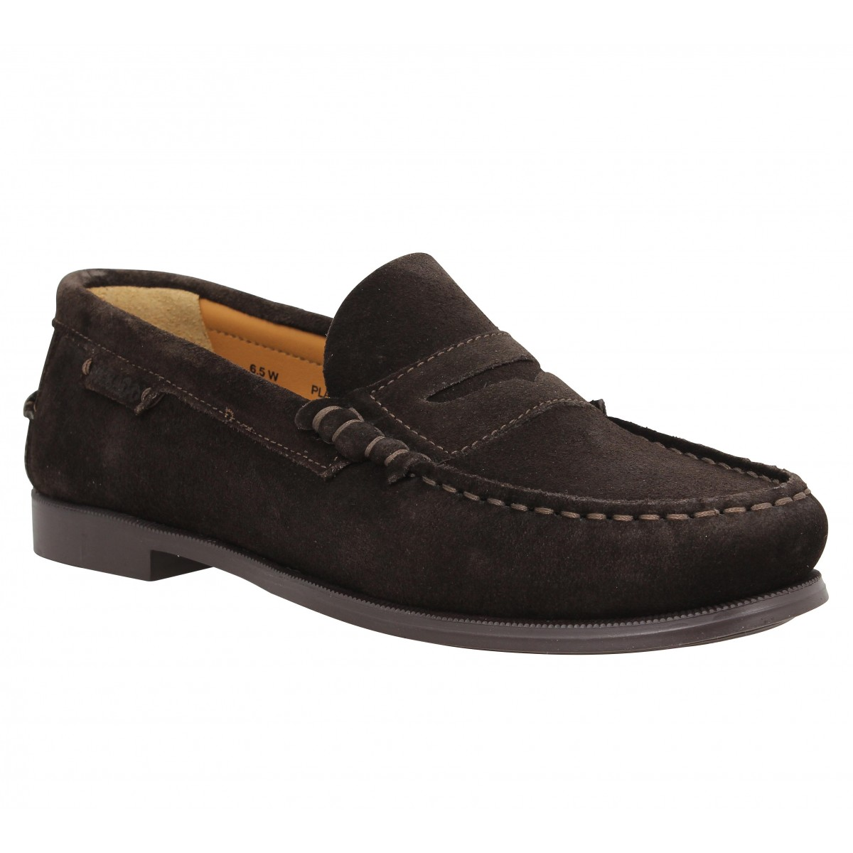 Mocassins SEBAGO Plaza velours Marron