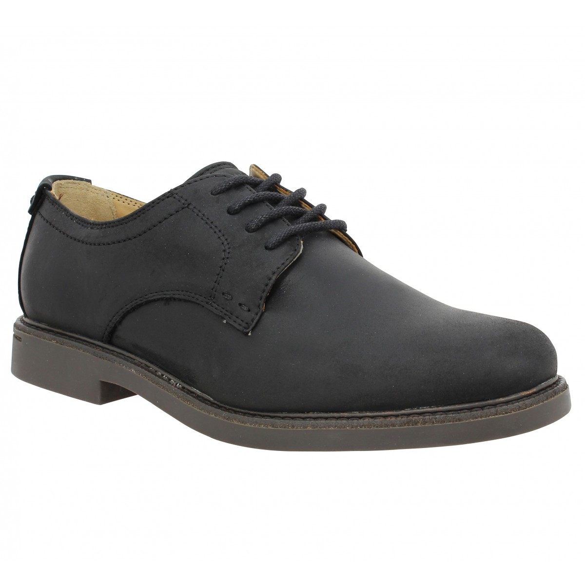 Sebago Homme Turner Lace Up-41,5-noir