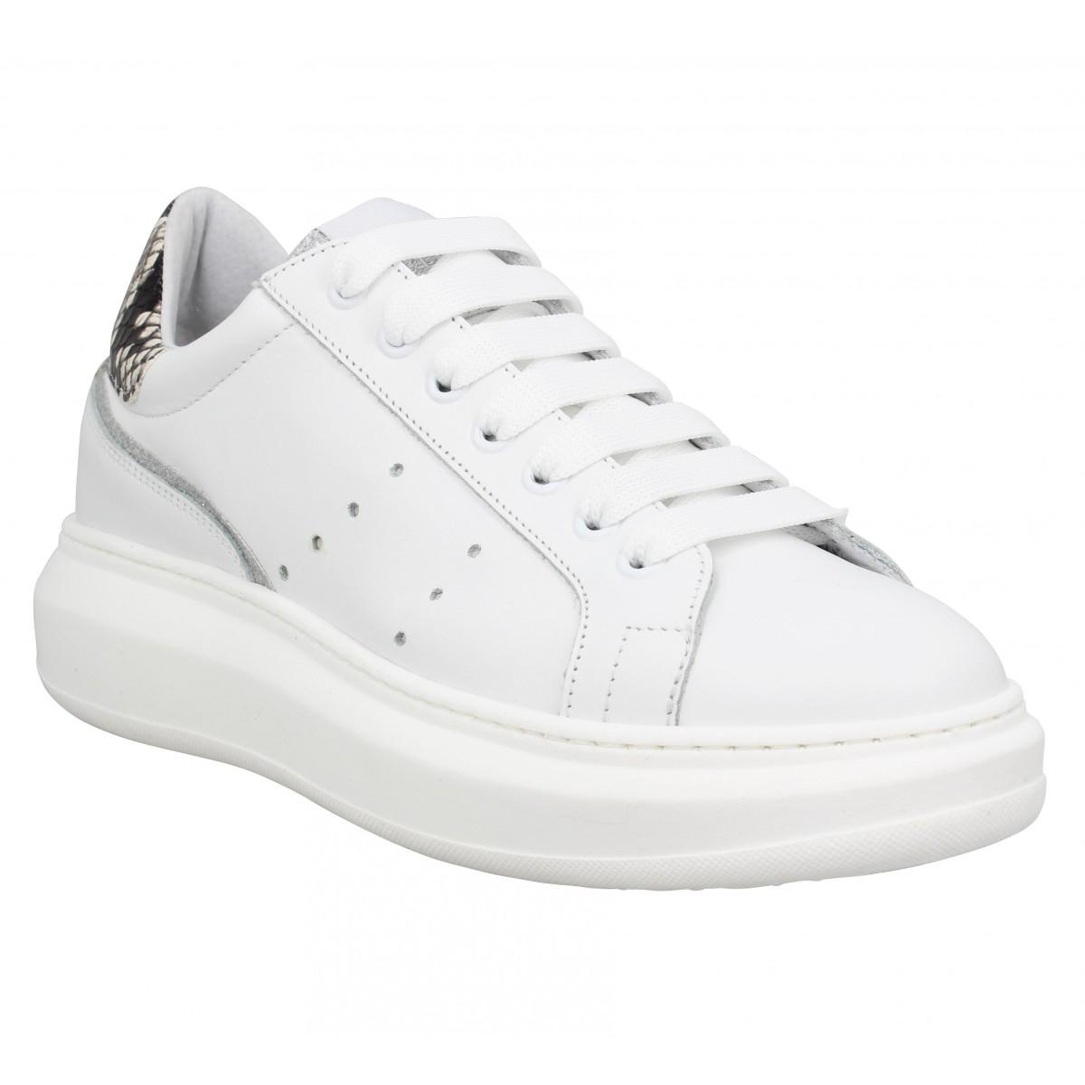 Semerdjian Femme 9911 Cuir -40-blanc