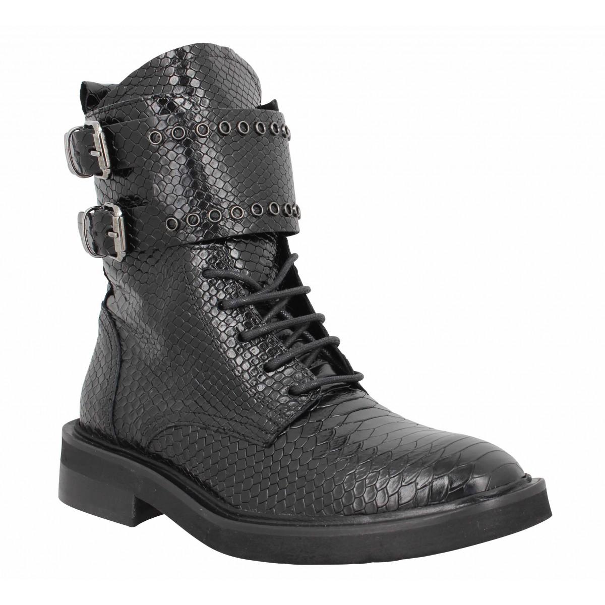 Semerdjian Femme E9074 Cuir -36-noir