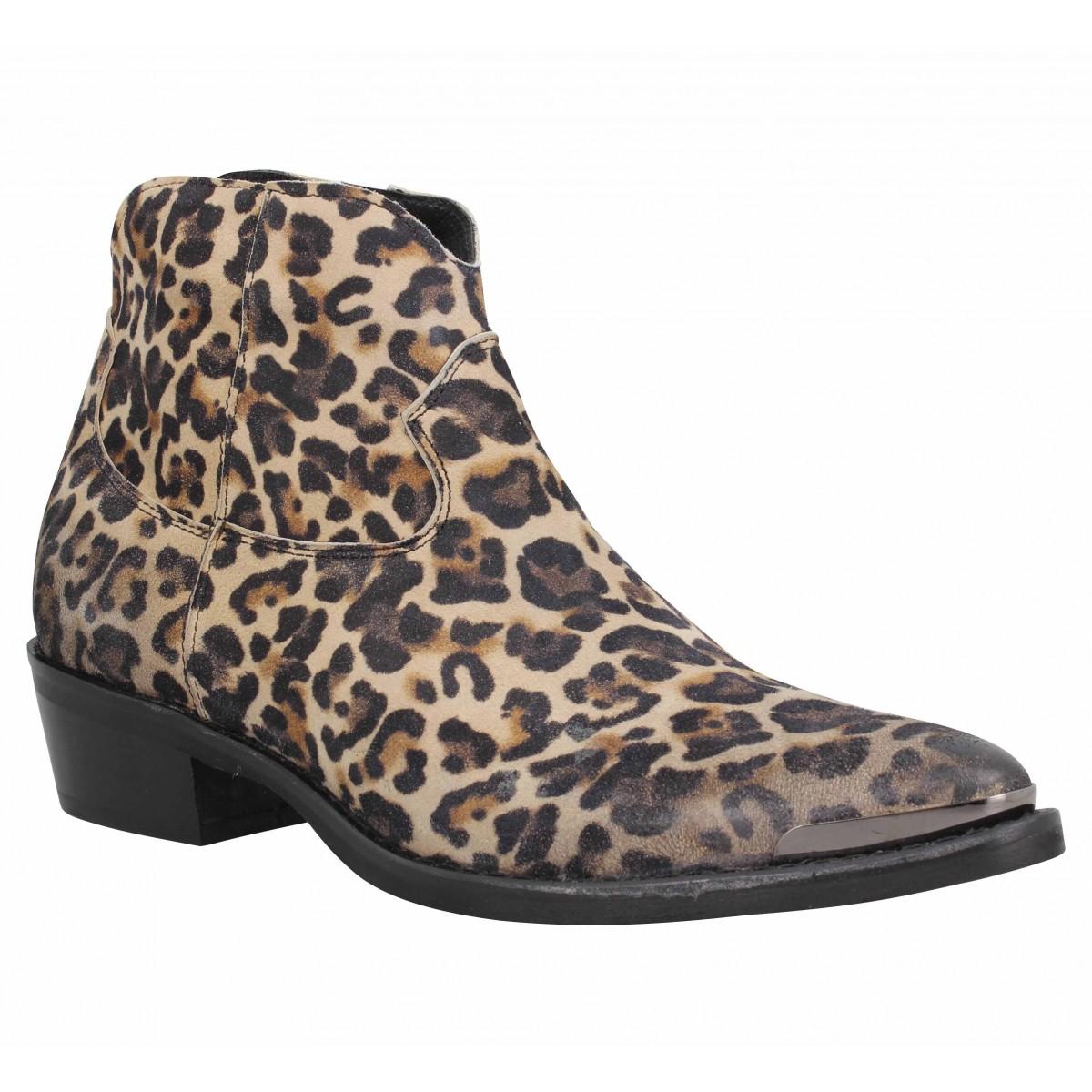 Bottines SEMERDJIAN ER979 cuir Femme Jaguar