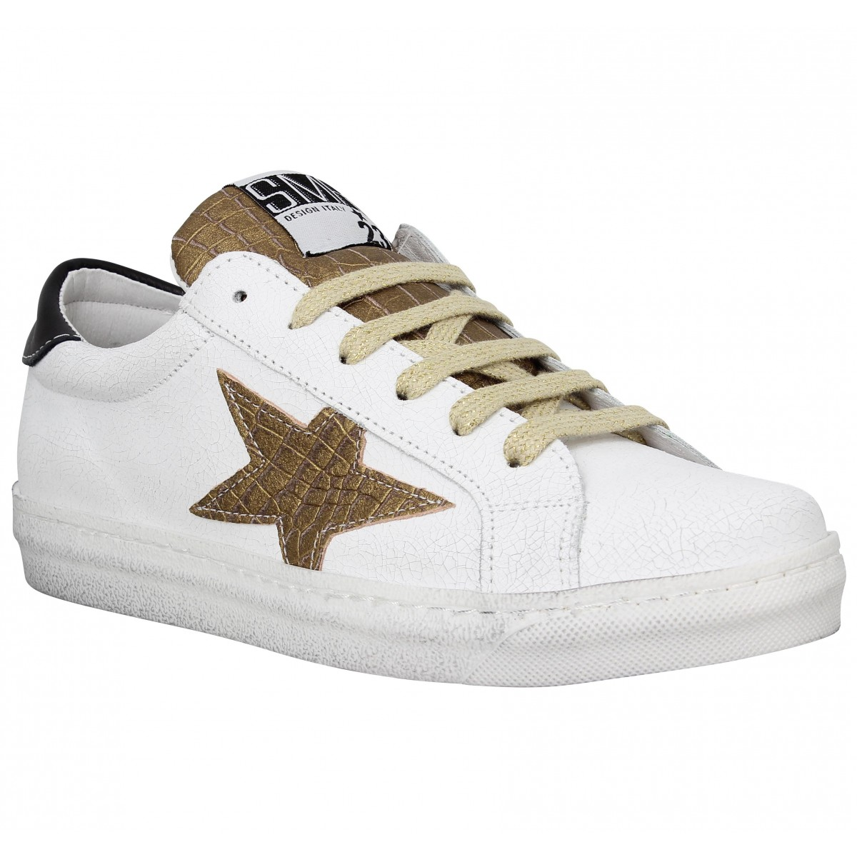 N Enfants O21 Baskets Stars Paillettes - Blanc qGWY6nqsuE