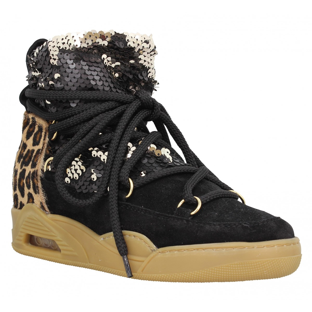 Super Serafini moon paillettes femme leopard femme | Fanny chaussures PY46