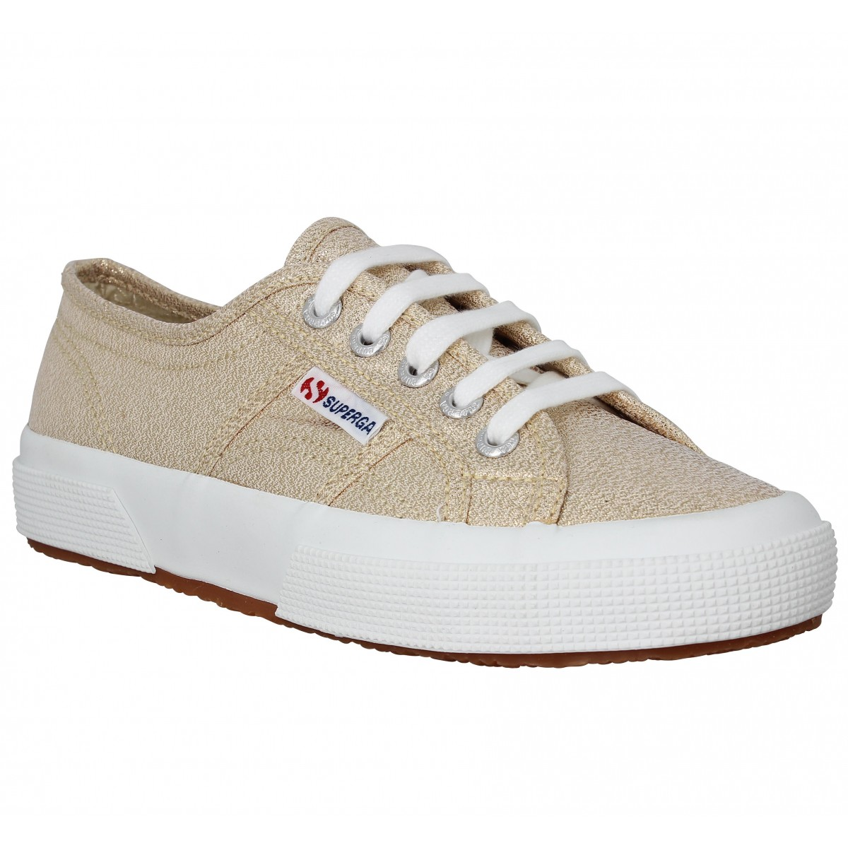 Baskets SUPERGA 2750 Femme Or