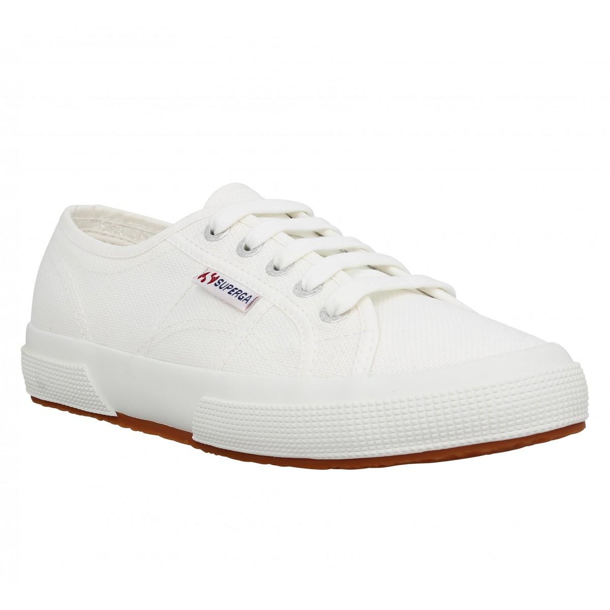 Superga Marque 2750 Femme-35-blanc