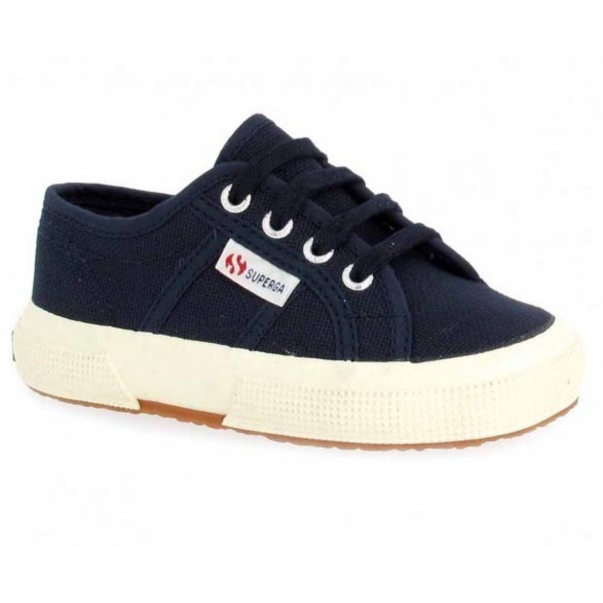 Baskets SUPERGA 2750 toile Enfant Marine