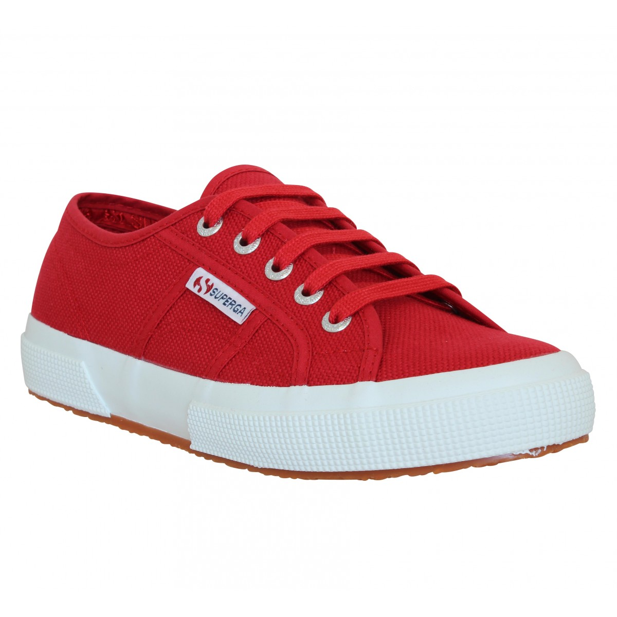 Baskets SUPERGA 2750 toile Femme Rouge