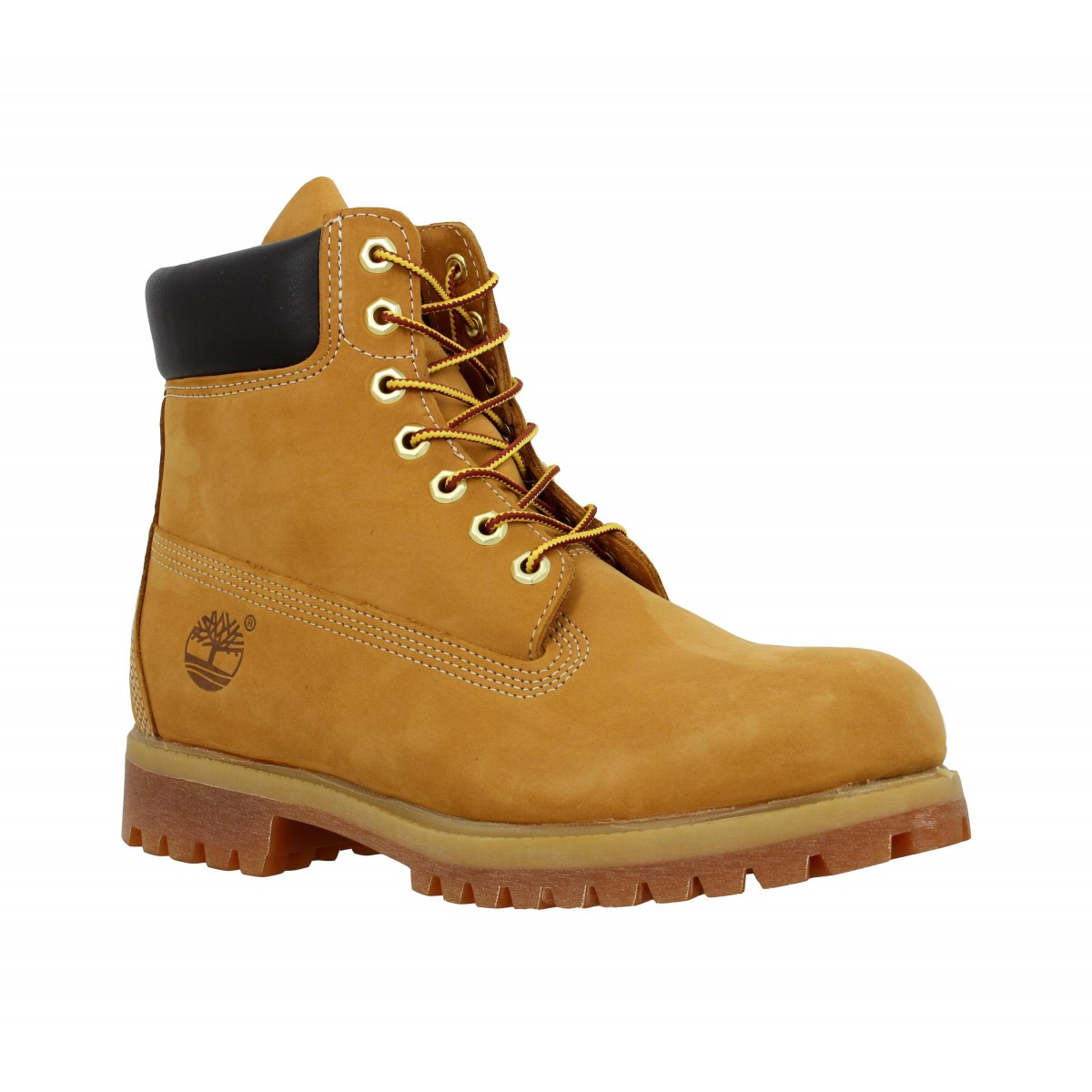 Bottines TIMBERLAND 6in Premium velours Homme Ocre