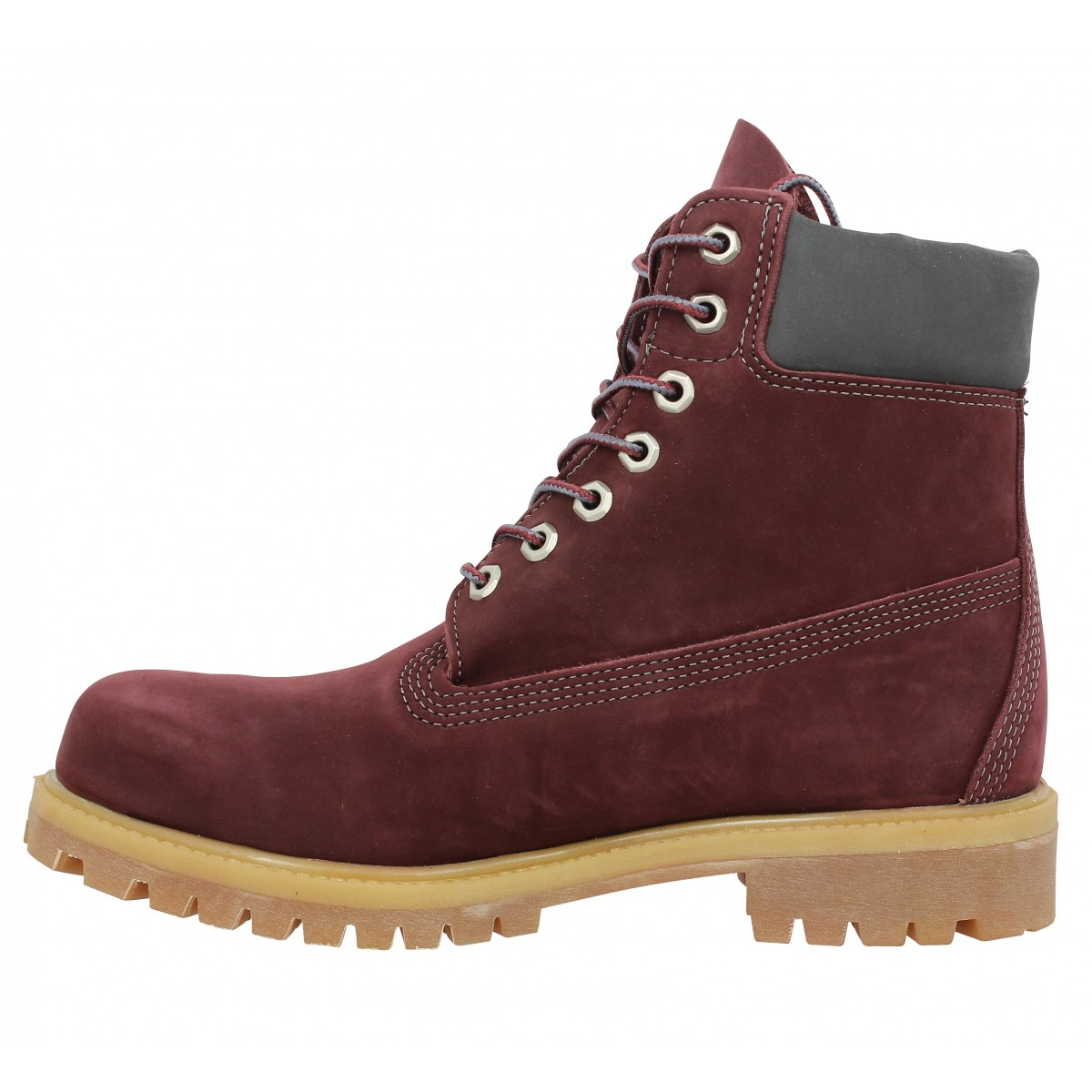 timberland homme bordeaux