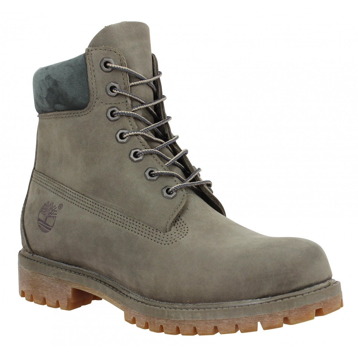Bottines TIMBERLAND 6in Premium velours Canteen