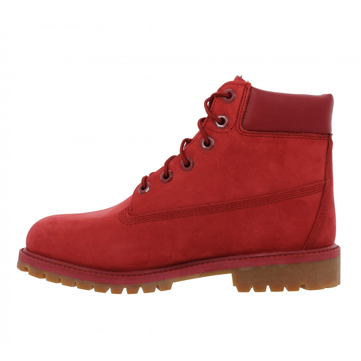 TIMBERLAND 6in Premium velours Homme Full Rouge