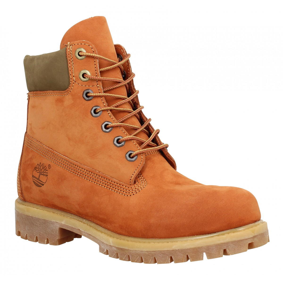 Bottines TIMBERLAND 6in Premium velours Gourd