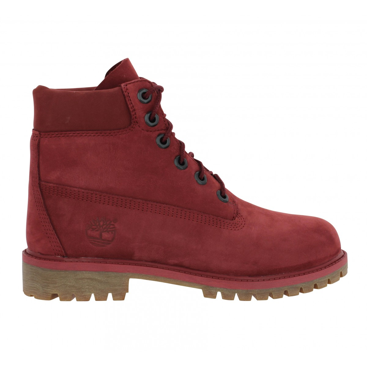 a56d8068be8 Chaussures Timberland 6in premium wp velours femme bordeaux femme ...