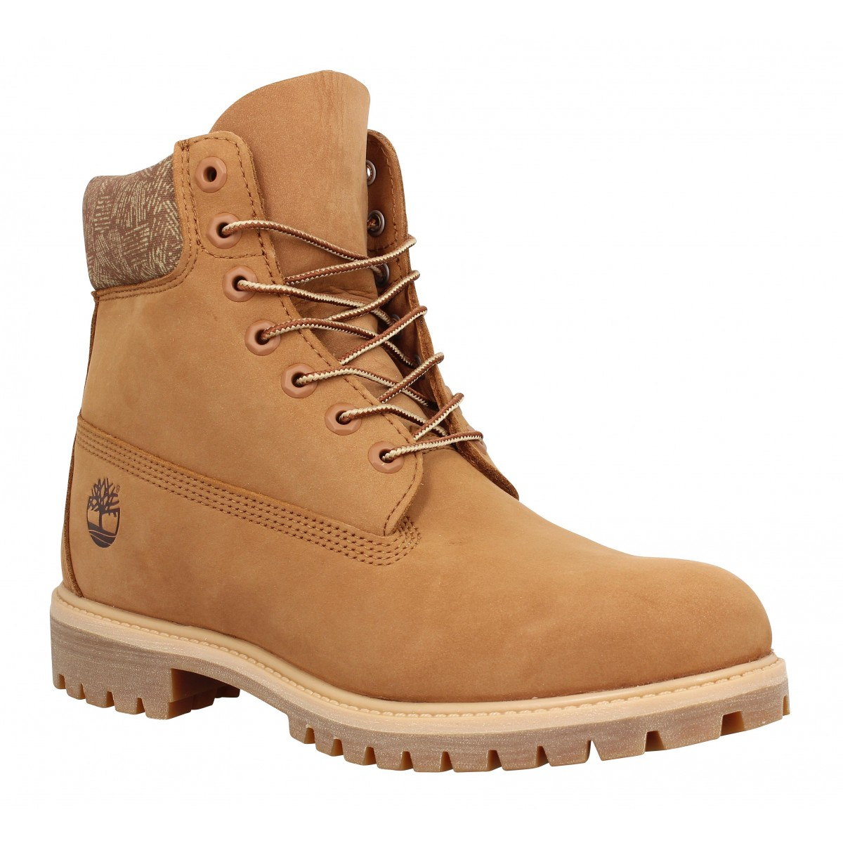 Bottines TIMBERLAND 6in Premium WP velours Homme Argan
